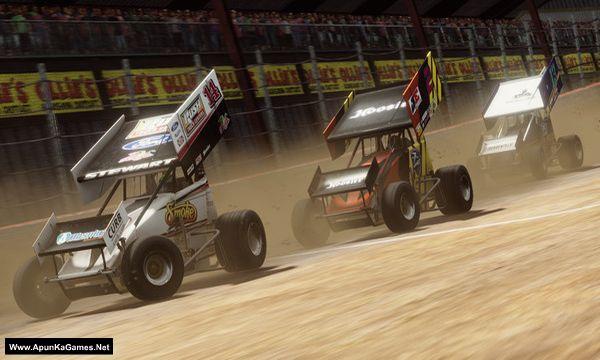 Tony Stewart's Sprint Car Racing Screenshot 1, Full Version, PC Game, Download Free