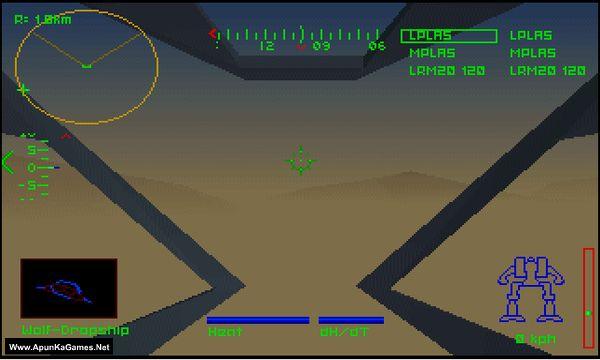 MechWarrior (1-4) Screenshot 1, Full Version, PC Game, Download Free