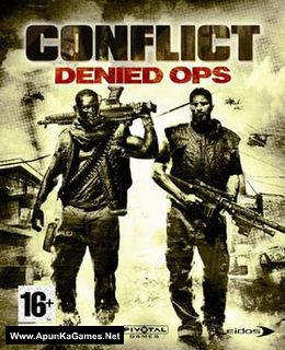 Conflict: Denied Ops Cover, Poster, Full Version, PC Game, Download Free