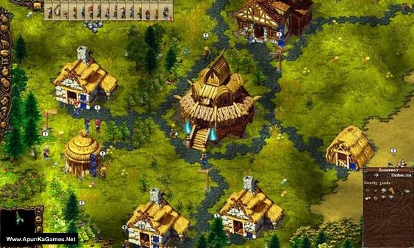 Cultures 1+2 Screenshot 1, Full Version, PC Game, Download Free