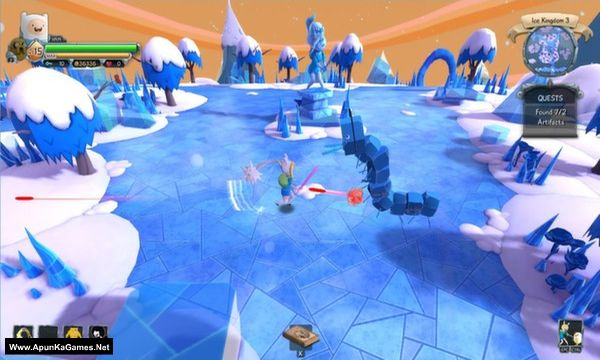 Finn and Jake's Epic Quest Screenshot 1, Full Version, PC Game, Download Free