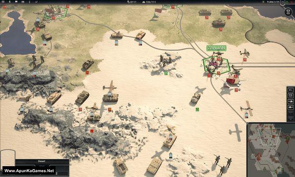Panzer Corps 2 General Edition Screenshot 1, Full Version, PC Game, Download Free