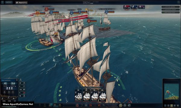 Ultimate Admiral Age of Sail Screenshot 2, Full Version, PC Game, Download Free