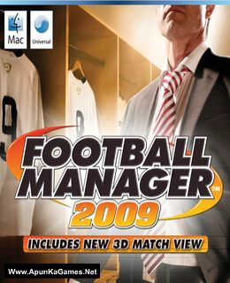 Football Manager 2009 Cover, Poster, Full Version, PC Game, Download Free