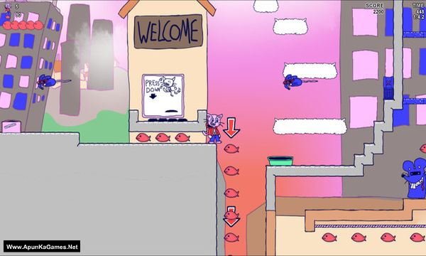 Sticky Paws Screenshot 3, Full Version, PC Game, Download Free