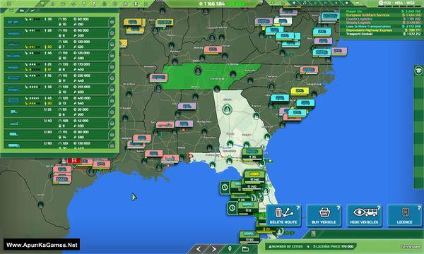 Transport INC Screenshot 2, Full Version, PC Game, Download Free