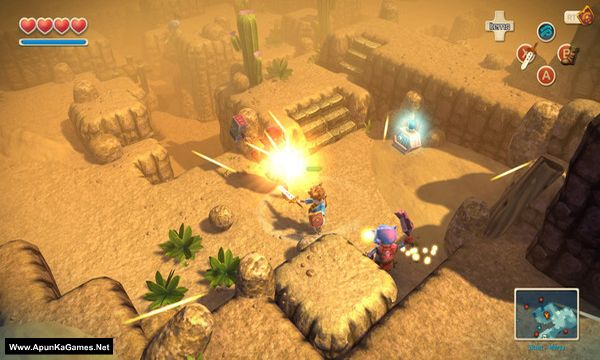 Oceanhorn: Monster of Uncharted Seas Screenshot 2, Full Version, PC Game, Download Free