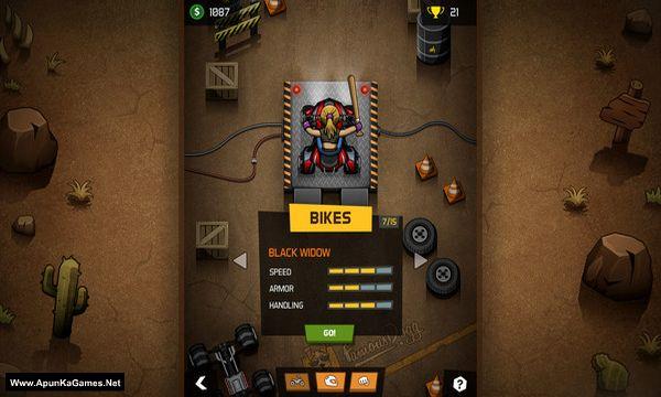 Rude Racers: 2D Combat Racing Screenshot 2, Full Version, PC Game, Download Free