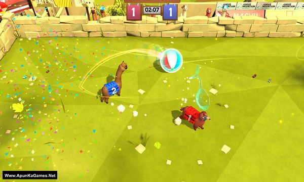 Alpaca Ball: Allstars Screenshot 1, Full Version, PC Game, Download Free