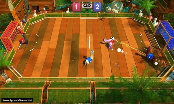 Alpaca Ball: Allstars Screenshot 2, Full Version, PC Game, Download Free