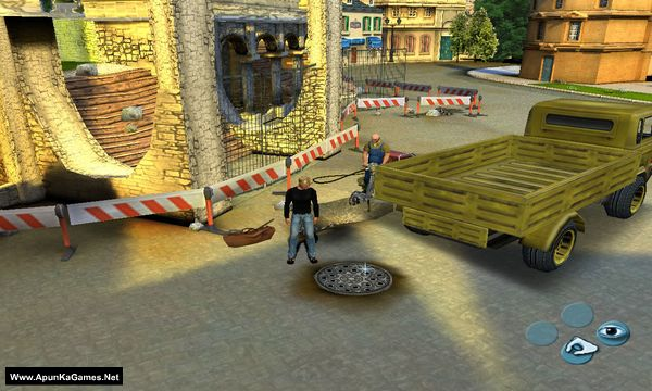 Broken Sword 3: The Sleeping Dragon Screenshot 1, Full Version, PC Game, Download Free