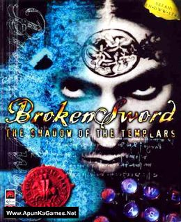 Broken Sword: The Shadow of the Templars Cover, Poster, Full Version, PC Game, Download Free