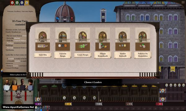 Lorenzo il Magnifico Screenshot 2, Full Version, PC Game, Download Free