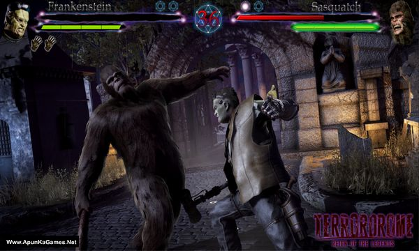 Terrordrome: Reign of the Legends Screenshot 1, Full Version, PC Game, Download Free