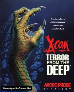 X-COM: Terror from the Deep Cover, Poster, Full Version, PC Game, Download Free