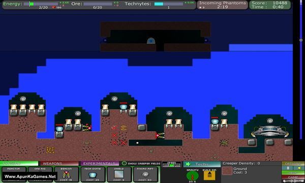 Creeper World 2: Anniversary Edition Screenshot 2, Full Version, PC Game, Download Free