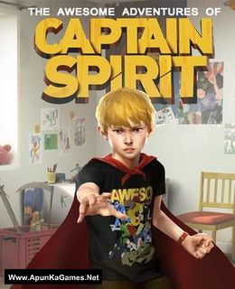 The Awesome Adventure of Captain Spirit Cover, Poster, Full Version, PC Game, Download Free