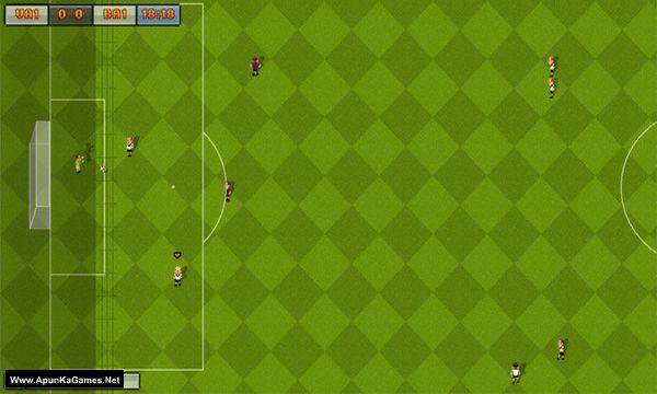 16-Bit Soccer Screenshot 1, Full Version, PC Game, Download Free