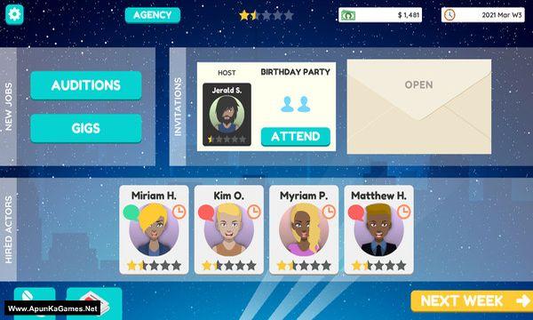 Actor Tycoon 2 Screenshot 1, Full Version, PC Game, Download Free