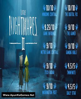 Little Nightmares 2 Cover, Poster, Full Version, PC Game, Download Free