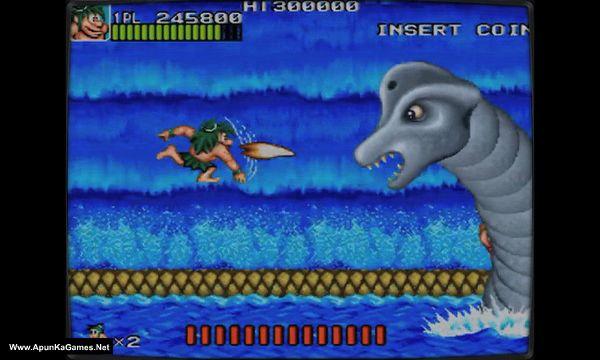 Retro Classix: Joe and Mac - Caveman Ninja Screenshot 1, Full Version, PC Game, Download Free