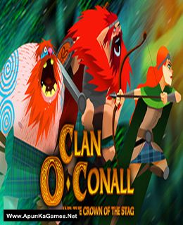 Clan O'Conall and the Crown of the Stag Cover, Poster, Full Version, PC Game, Download Free