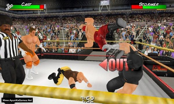 Wrestling Empire Screenshot 1, Full Version, PC Game, Download Free