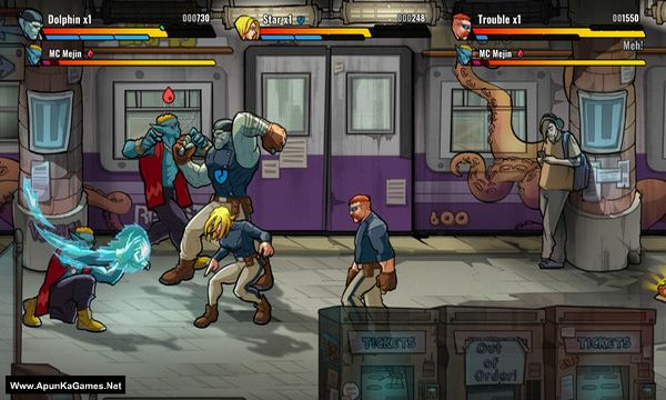 Mayhem Brawler Screenshot 3, Full Version, PC Game, Download Free