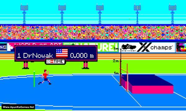 World CHAMPIONS: Decathlon Screenshot 1, Full Version, PC Game, Download Free
