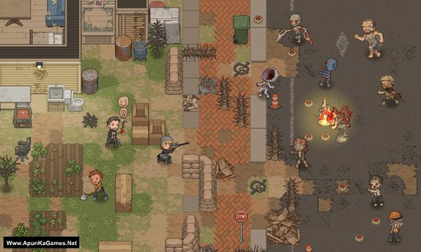 Nearly Dead Screenshot 1, Full Version, PC Game, Download Free
