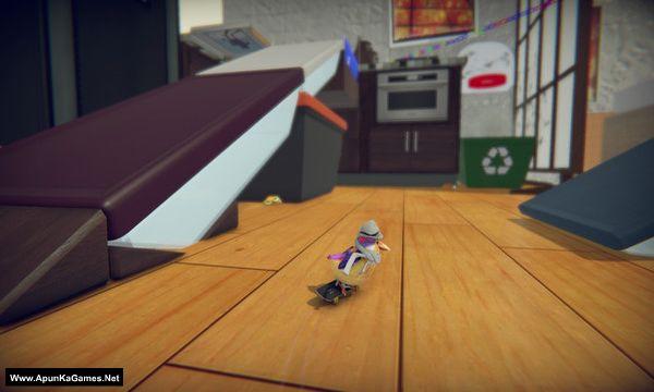 Skatebird Screenshot 1, Full Version, PC Game, Download Free
