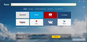 Browser Yandex