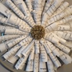 Music Sheet Wreath