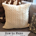 Cozy Sweater Pillows