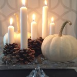 How to Make Pinecone Candle Holders