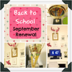 Back to School September Renewal