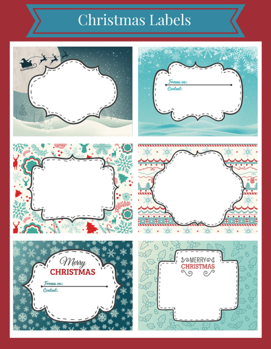 Giveaway Winner Announcement & Free Christmas Printables