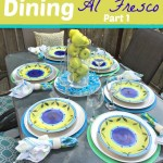 Al Fresco Dining – Part 1