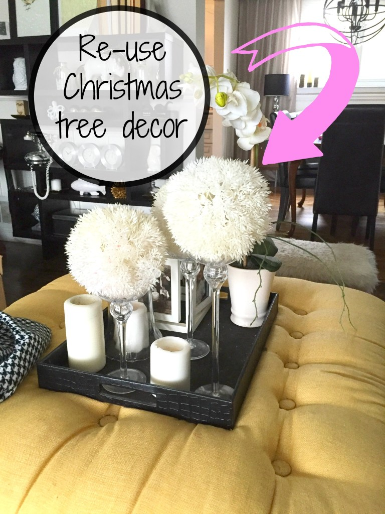 Guide to Winter Decorating in 4 easy steps / How to Transition from Christmas to Winter Decorating / Winter Decor / apurdylittlehouse.com