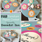 Tea Party Table Makeover – with Chalk Paint