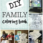 DIY Family Coloring Book