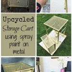 Upcycled Storage Cart