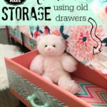Under the Bed Storage Using Old Drawers