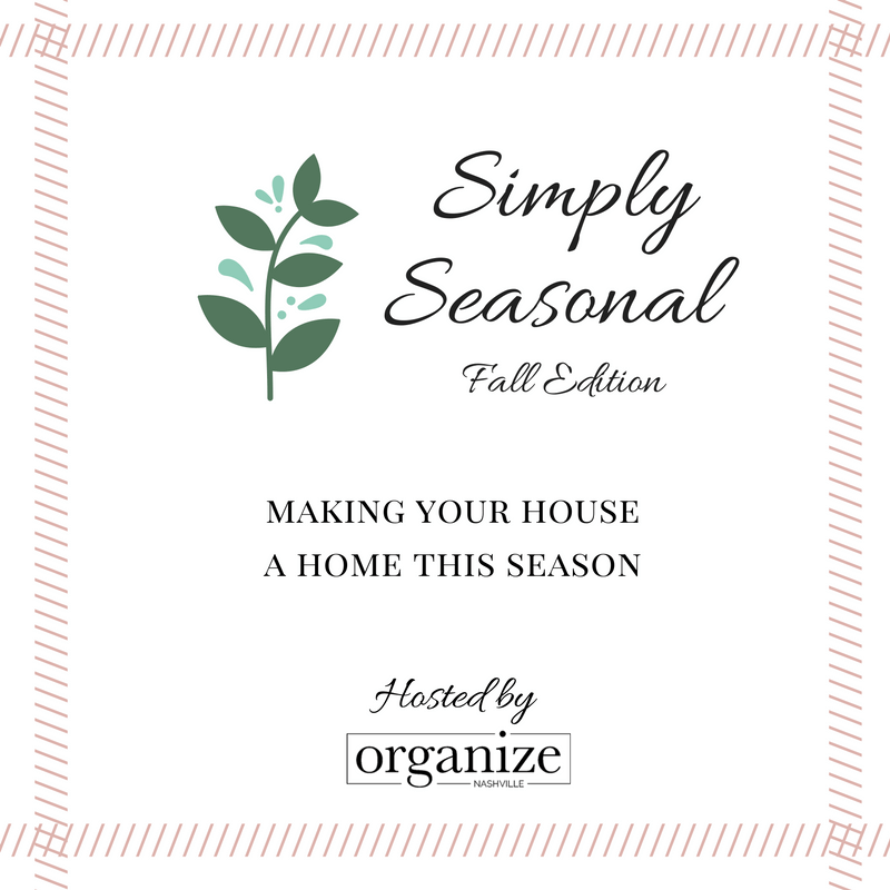Simply Seasonal Fall Home Tour Edition