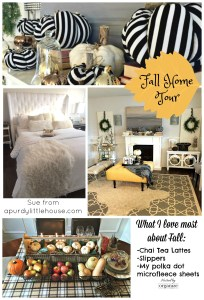 Simply Seasonal Fall Home Tour - Fall Edition. Get all the details at apurdylittlehouse.com