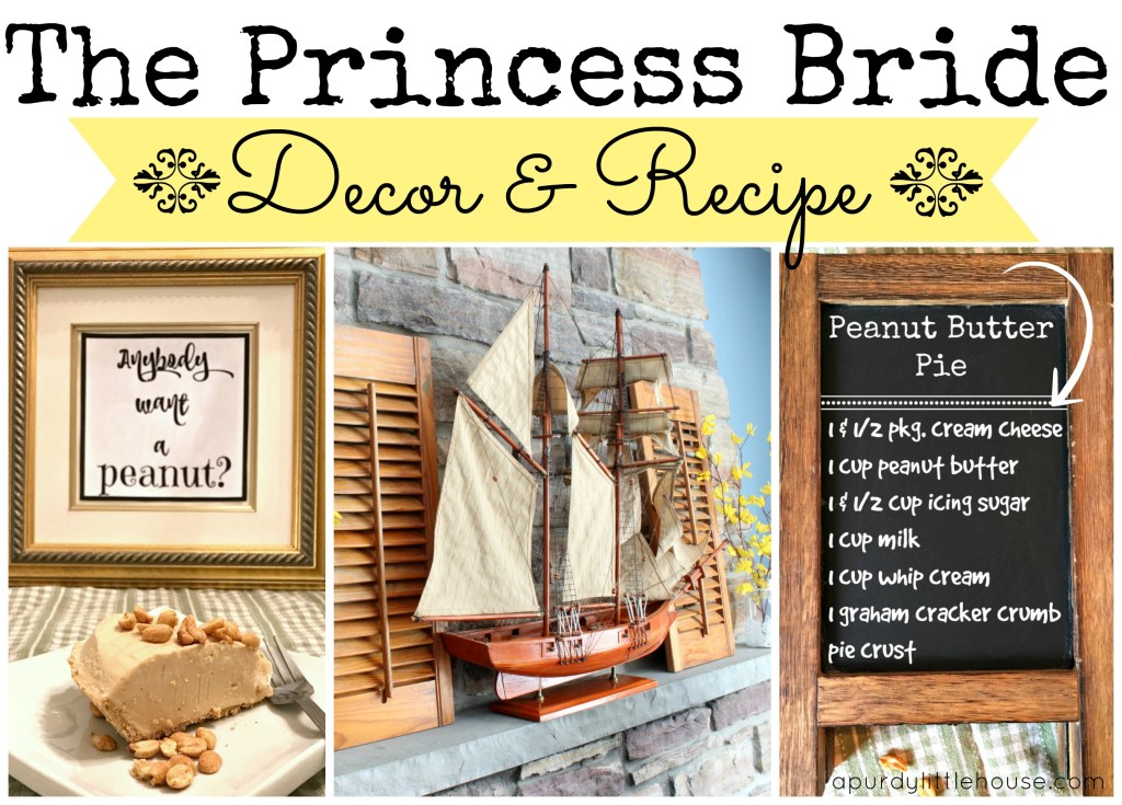 The Princess Bride Inspired Decor and Recipe for a perfect Princess Bride Party