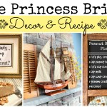 Fireplace Mantel (and recipe) inspired by The Princess Bride