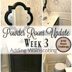 Powder Room Update – Week 3