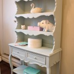 Girl's Room Hutch Makeover
