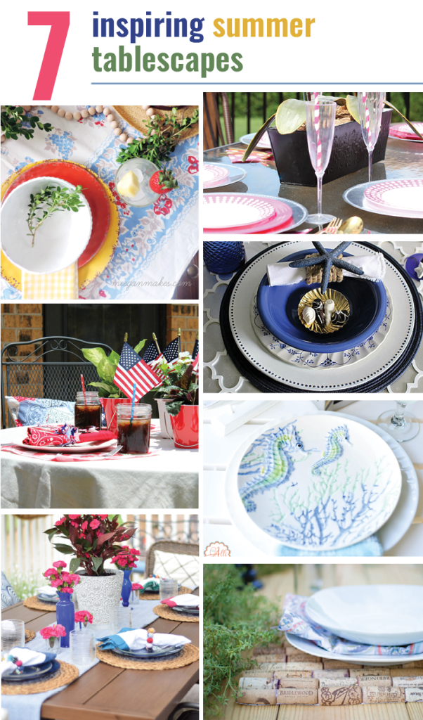 Summer 2017 Tablescape blog hop